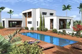 maison en cube moderne vente de plan de maison contemporaine