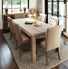 Rustic Dining Table High Top Distressed Antique White Chairs Gray Counter Height Farmhouse Plans Set