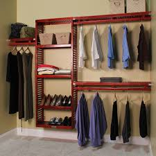 affordable wood closet shelving for simple organize home decorations