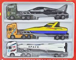 100 Toy Truck And Trailer Mahvi S Playset With Plastic Parts