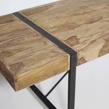 table bois et ar avec rallonge inspirations et table style