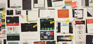 The IBM Bluemix Designers Inspiration Board Used To Spur Creative Thinking Share Ideas And Build Consensus