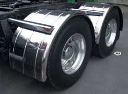 Semi Truck Fiberglass Single Axle Fenders - Raney's Truck Parts
