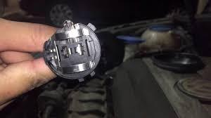 2012 vw eos headlight bulb change