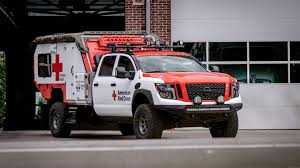 100 Help Truck Nissan Ultimate Service Titan Joins The Red Cross To Save Lives
