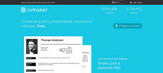 CV Maker Make Proficient Resumes