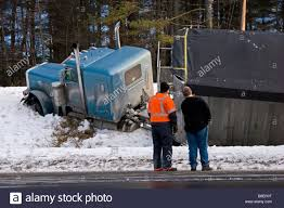 Semi Truck Accident Stock Photos & Semi Truck Accident Stock Images ... Semi Truck Jackknife Accident Into A Ditch During Winter Snow Top Reasons For Semitruck Accidents Lawyers Offer Tips For Safe Driving Mike Truck Accident On Highway United States Stock Photo 115638 Trucks Crashes Crash Why Often Have More Value Traffic Alert Lanes Of I40 And I44 Reopened After Photos Images Legal Concepts In Cases Category Archives Maryland Nashville Lawyer Mitch Grissim Associates Missouri Tesla Model S Collides With Flips The Giant Over
