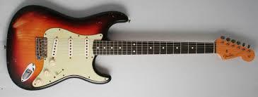 Fender Custom Shop 60 Stratocaster Relic Ash Body 3 Tone Sunburst