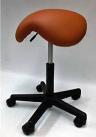 Dental Hygiene Saddle Chair by New Dental Hygiene Portable Equipment