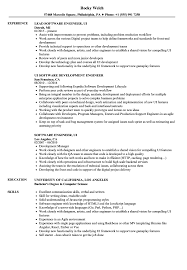 Software Engineer, UI Resume Samples | Velvet Jobs Software Engineer Developer Resume Examples Format Best Remote Example Livecareer Guide 12 Samples Word Pdf Entrylevel Qa Tester Sample Monstercom Template Cv Request For An Entrylevel Software Engineer Resume Feedback 10 Example Etciscoming Account Manager Disnctive Career Services Development And Templates
