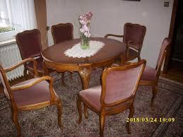 möbel eßzimmer chippendale tisch vitrine anrichte