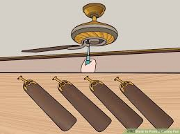 Ceiling Fan Wobble Safe by How To Paint A Ceiling Fan 13 Steps With Pictures Wikihow
