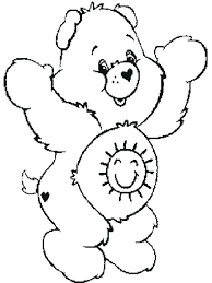 Bear Coloring Pages Online Care Bears Pictures To Print Grizzly Printable Page Full Size