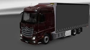 Euro Truck Simulator 2 - Mercedes-Benz Actros MP4 Tandem - V. 1.13 ...