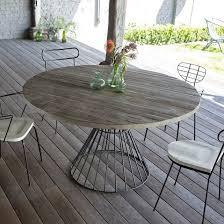 table ronde exterieur