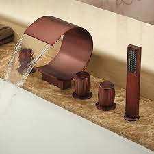 Brushed Bronze Bathroom Faucets by Oil Rubbed Bronze Faucets
