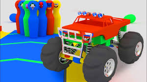 Big Monster Trucks Play Bowling | Monster Trucks Blow Up | Car ... 100 Bigfoot Presents Meteor And The Mighty Monster Trucks Toys Truck Cars For Children Cartoon Vehicles Car With Friends Ambulance And Fire Walking Mashines Challenge 3d Teaching Collection Vol 1 Learn Colors Colours Adventures Tow Excavator The Episode 16 Tv Show Monster School Bus Youtube