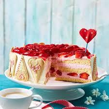 muttertags erdbeer torte