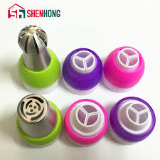 Ball Nozzle Tips Coupler Sphere Icing Piping Nozzles Converter 3 Hole Plastic Cake Decorating Tools For Russia On Aliexpress