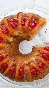 Pineapple Upside Down Bundt Cake Recipe