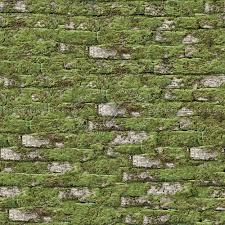 Moss Brick Texture Seamless 13168