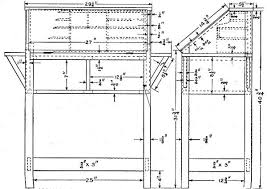 woodworking building plans writing desk