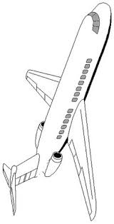 Airplane 5 Coloring Page