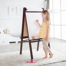 Kidkraft Easel Desk Espresso by Classic Playtime Hopscotch Stackable Toy Storage Hayneedle