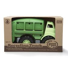 Amazon.com: Green Toys Recycling Truck In Green Color - BPA Free ...