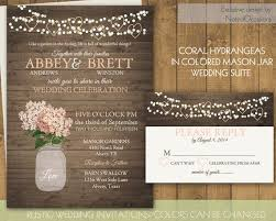 Mason Jar Wedding Invitations Is Good Idea Which Can Be Applied For Your Invitation Card 15