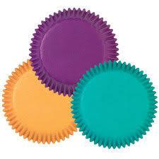 Jewel Tone Cupcake Liners Standard Sized