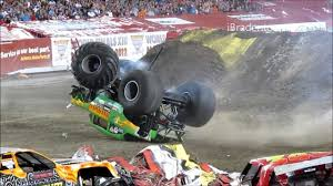 100 Monster Truck Crashes Jam 2012 Tampa Crash Compilation 720p YouTube