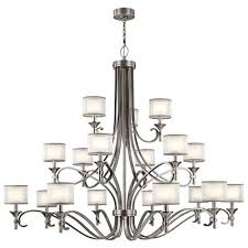 Pewter Chandeliers