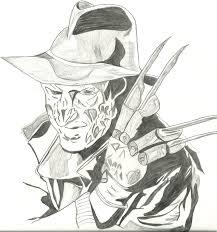Printable Freddy Krueger Pumpkin Stencils by Freddy Krueger Coloring Pages Colouring Freddy Krueger Google