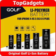 APPLE iPhone 5 iPhone 5S Battery Replacement ORIGINAL GOLF