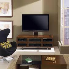 Modern LED TV Stand Cabinet High Gloss Doors In M2