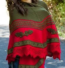Cascade Christmas Tree Skirt Knitting Kit