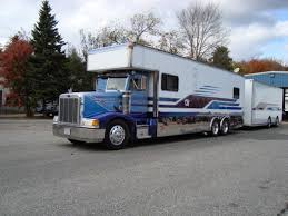Peterbilt Chassis Mount Cab Over Camper And Trailer. Industrial ... New Motorhomes For Sale Charlotte Nc Motorhome Dealer See Why Heavy Duty Trucks Are Best Rv Towing With A 5th Wheel Top 6 Categories Without Hitch Campervan Wikipedia Showhauler Cversions Volvo Toter 2 Rvs Rvtradercom Recent Toterhome Toyhauler Cversion Builds Bangshiftcom Freak Of The Week This Truck Thing Is Epic Rr Hdt