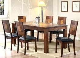 Solid Wood Table Chairs Oak Dining And 6 Ebay Chairside Tables Surprising 5 Foot Living Acacia