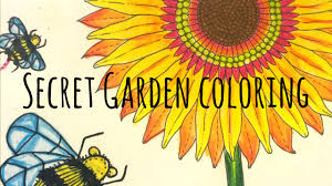 How To Color Secret Garden Coloring Book