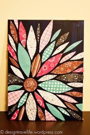 Best 25 Scrapbook paper canvas ideas on Pinterest