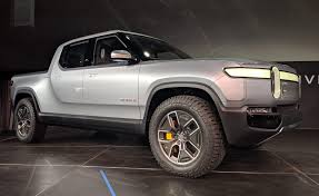 100 240 Truck Rivian R1T Electric Pickup Shocks World In LA Debut