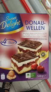 sweet delight donauwellen kalorien nährwerte produktdaten