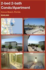 2 bed 2 bath Condo Apartment in Cocoa Beach Florida ■$240 000
