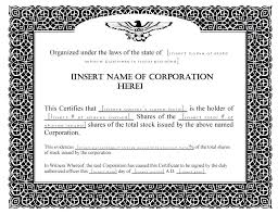 Stock Certificate Template Free Templates Word Lab Goes Microsoft Publisher F