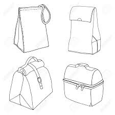 28 Collection Of Lunch Drawing Easy Box