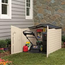 Suncast Horizontal Utility Shed Bms2500 by Outdoor Horizontal Storage Sheds Quality Plastic Sheds