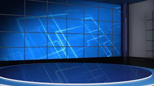 News TV Studio Set 45