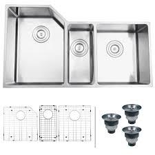 Undermount Kitchen Sinks At Menards by Ruvati Rvh8550 Undermount 16 Gauge 34