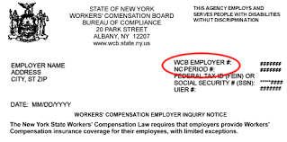 bureau workers comp response to insurance compliance employer notice help